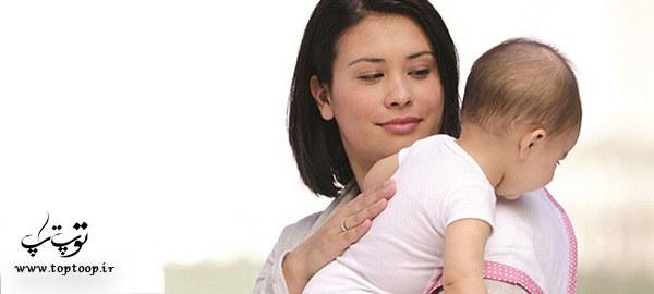 آروغ زدن نوزادان ، روشهایی برای آروغ زدن نوزاد