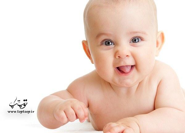 برای تپل شدن نوزاد چهار ماهه تا شش ماهه