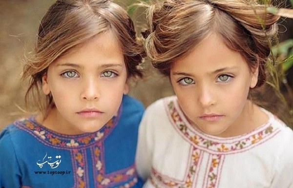دلنوشته های قشنگ از زبان دوقلوها