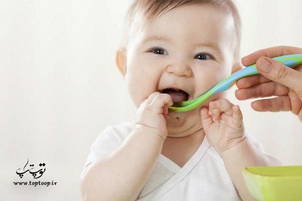 غذاهای مناسب نوزادان زیر 6 ماه برای افزایش وزن