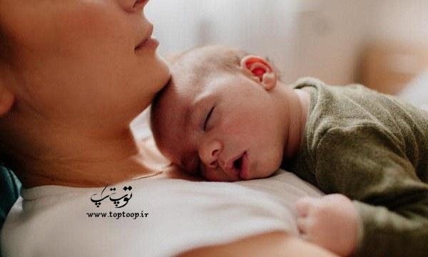 چه کار کنیم تا نوزاد شب ها راحت بخوابد