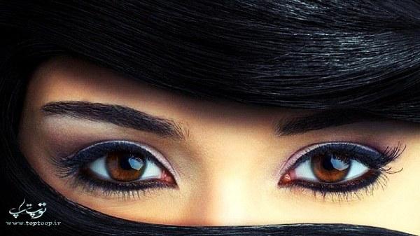 متن انگلیسی درباره چشمان زیبا