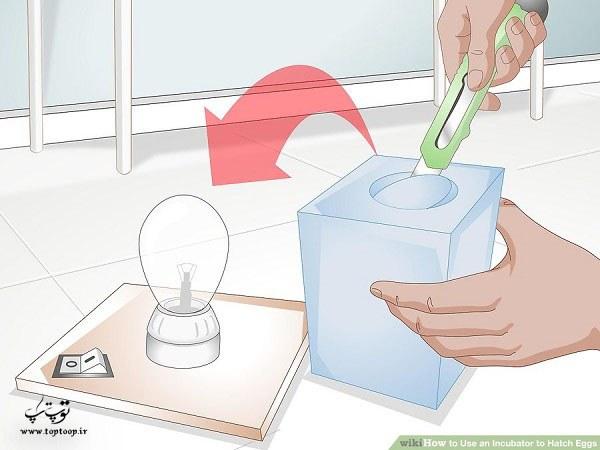 طرز کار با دستگاه جوجه کشی