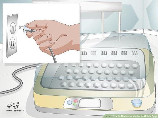 انحوه استفاده از دستگاه جوجه کشی برای جوجه کشی تخم مرغ ها جوجه کشی