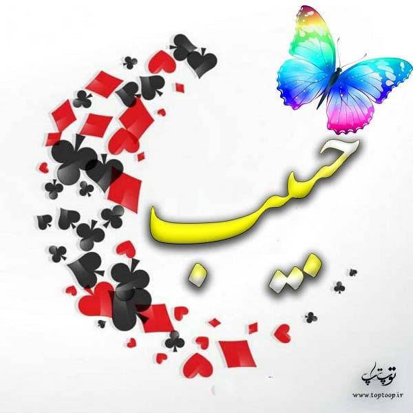 گرافیک اسم حبیب
