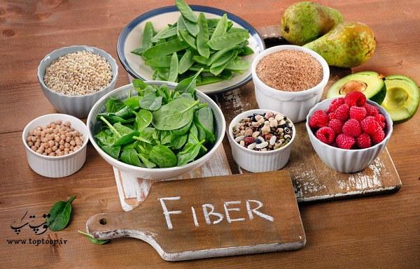 غذاهای سرشار از فیبر