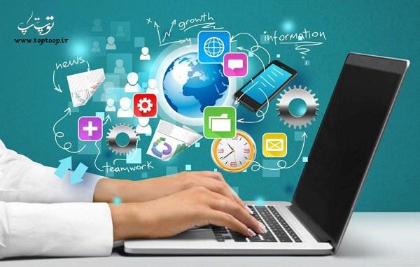 تحقیق انگلیسی در مورد مزایای اینترنت
