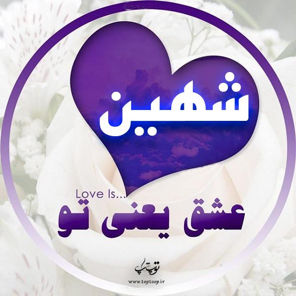 عکس پروفایل اسم شهین