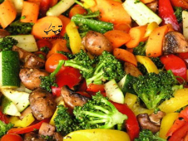 فیبر غذاهای گیاهی