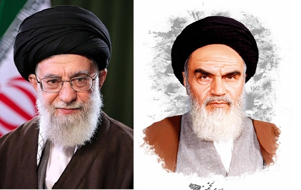 عکس امام و رهبری با کیفیت بسیار بالا