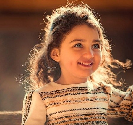 عکس پروفایل شاد دخترانه بچگانه
