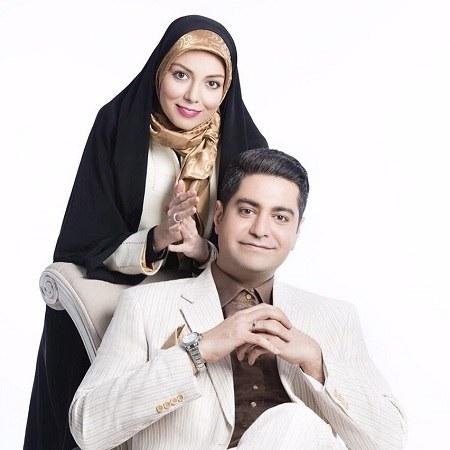 عکس عاشقانه آزاده نامداری و همسر جدیدش