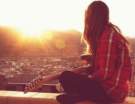 تصاویر دخترانه گیتار