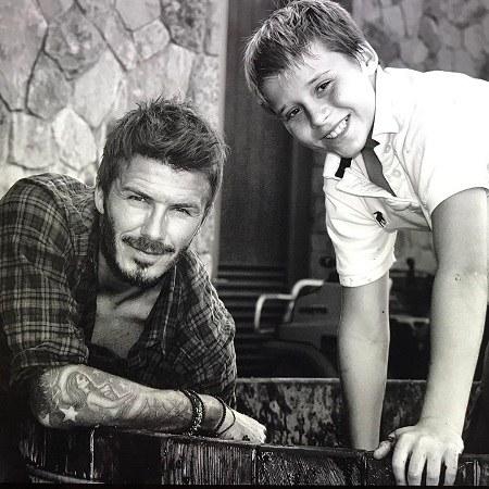 تصاویر شخصی دیوید بکهام و خانواده اش