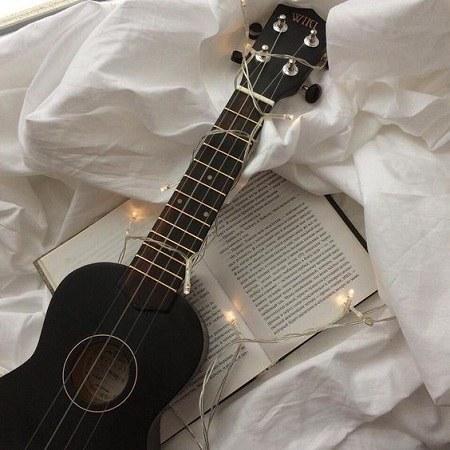 عکس هنری گیتار برای پروفایل