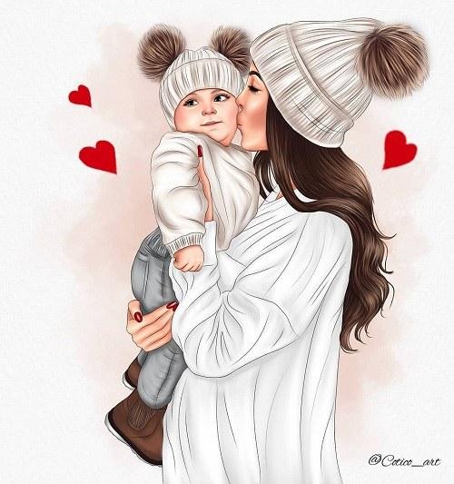 عروسکی عکس کارتونی دخترانه فانتزی ، عکس دختر عروسکی فانتزی
