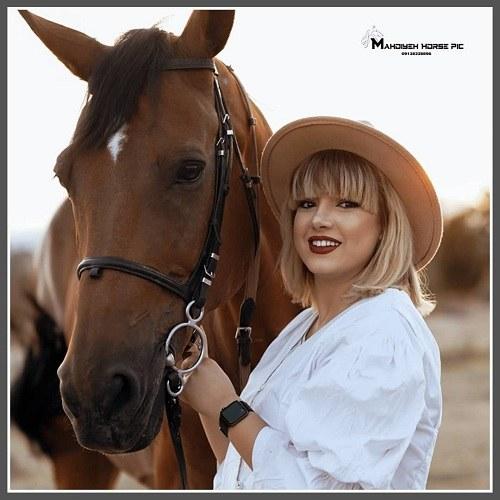 عکس اسب زیبا برای پروفایل دخترانه