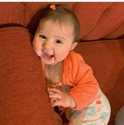 نینی پسر ، نوزاد تپل بامزه ، عکس نی نی پسر خوشگل چشم رنگی