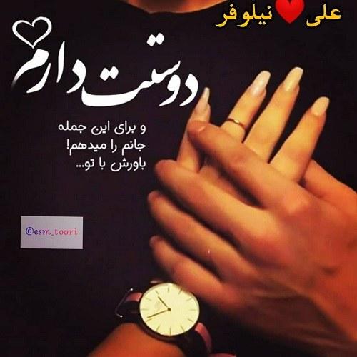 عکس اسم دونفره علی و نیلوفر