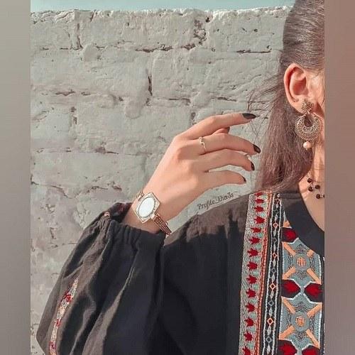 پروفایل دخترونه خانومانه ، عکس زنانه شیک و باکلاس برای پروفایل