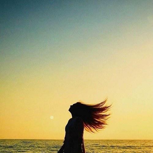 عکس پروفایل دخترونه از آسمان