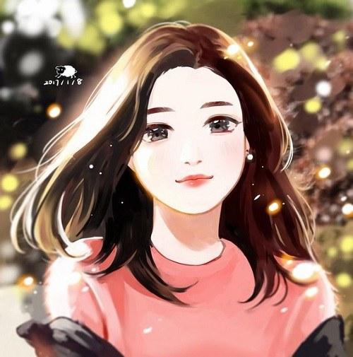 نقاشی دخترونه خوشگل
