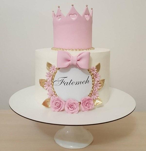 کیک تولد فاطمه جون تولدت مبارک
