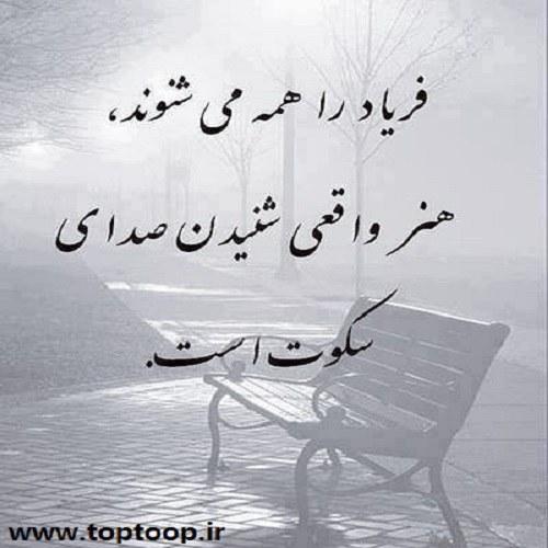 عکس نوشته فریاد عشق