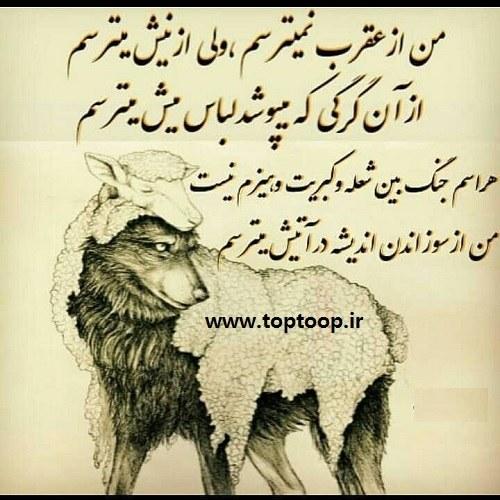 عکس نوشته میترسم