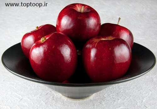 سیب آبدار و درشت