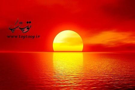 تعبیر خواب خورشید سرخ