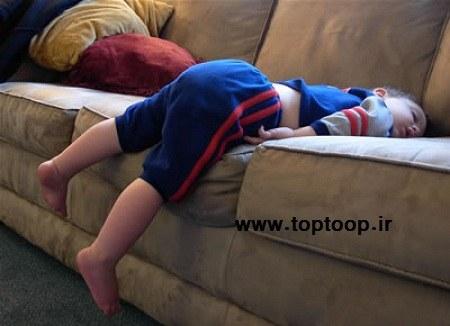 درمان راه رفتن بچه ها در خواب