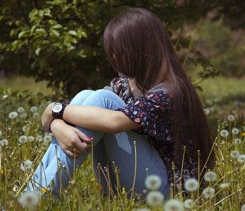 عکس غمگین دخترانه برای پروفایل