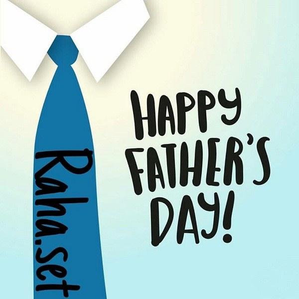 عکس نوشته انگلیسی برای تبریک روز پدر