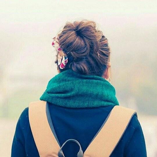 عکس دختر از پشت سر 2019
