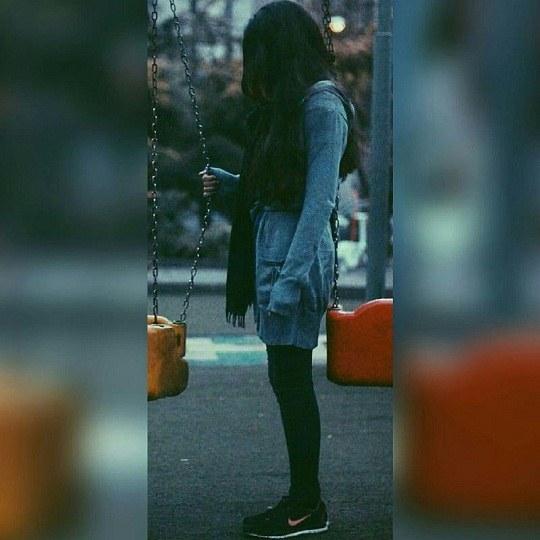 عکس پروفایل دخترونه کنار تاب ، ایرانی باشه