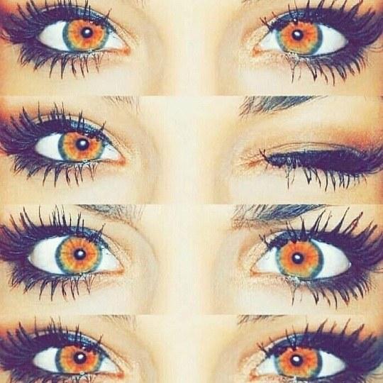 عکس از چند مدل چشم عسلی رنگ واسه پروفایل