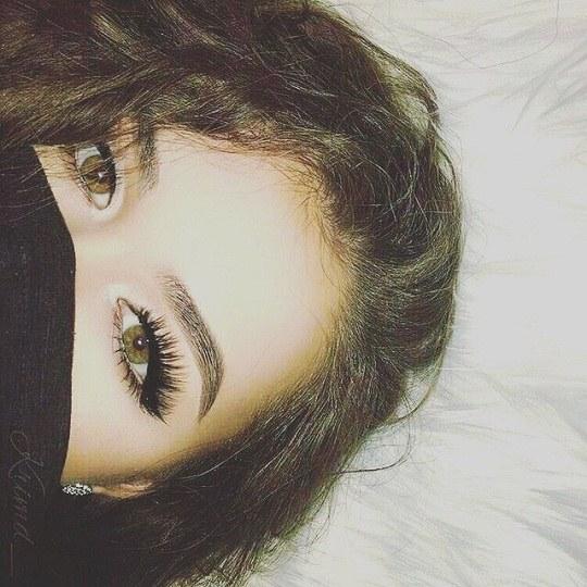 عکس دخترونه موفرفری برای پروفایل