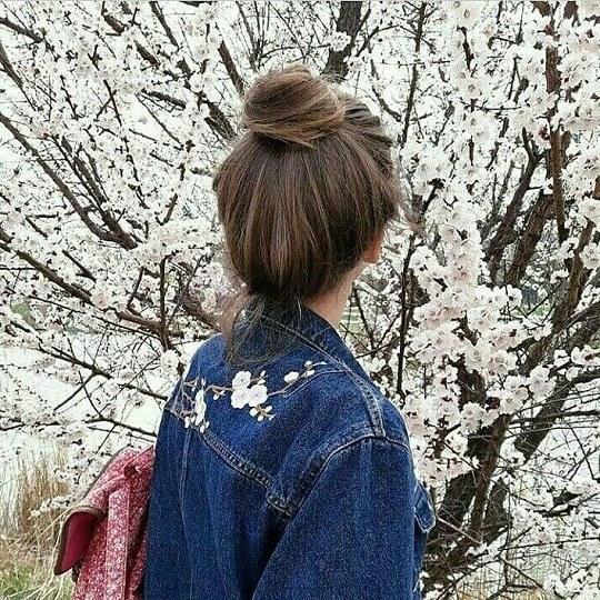عکس بی نظیر دخترانه در هوای بهاری و نوروزی
