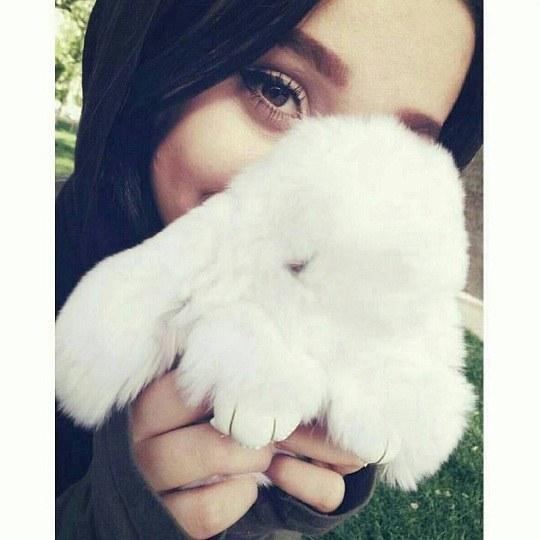 عکس از صورت دختر ایرانی واسه پروفایل