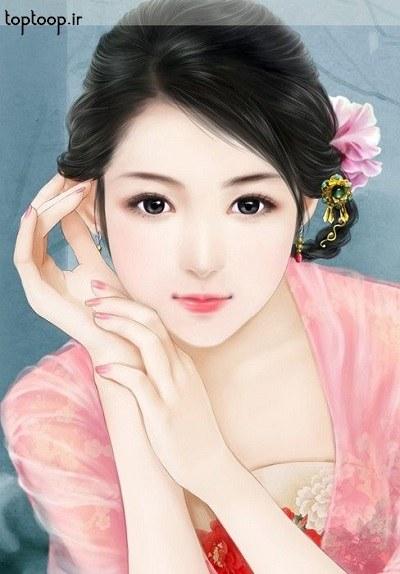 عکس دختر کره ای خوشگل برای پروفایل