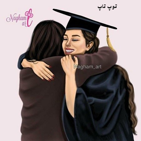 عکس دخترونه فانتزی فارغ التحصیل شده از دانشگاه برای پروفایلم