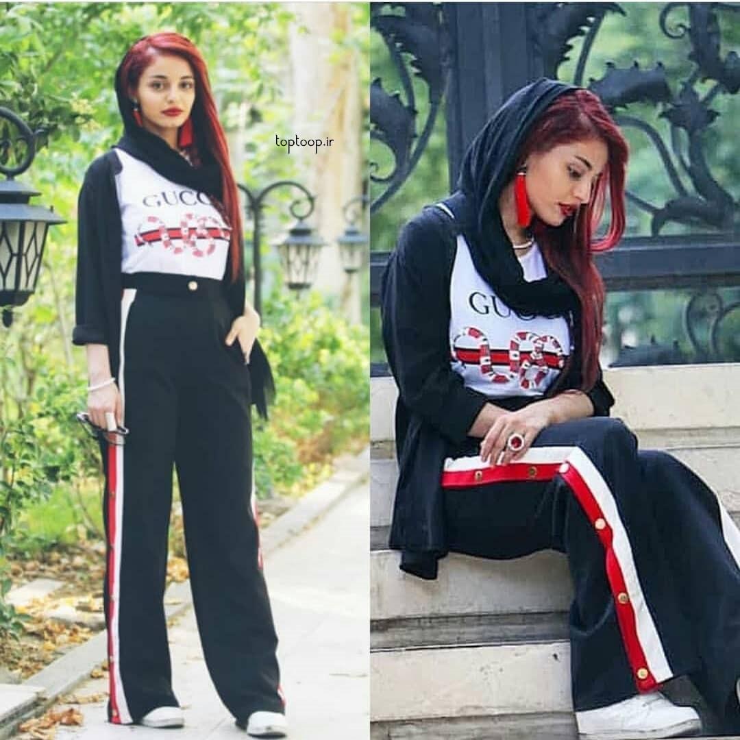مدل شلوار لی دخترانه ۹۸