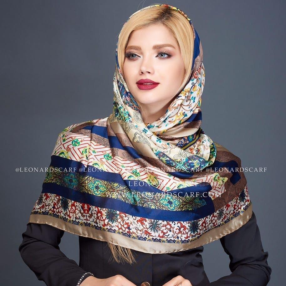 مدل روسری نخی عید 98