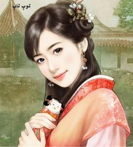 عکس فانتزی دختر کره ای با استایل های ناز