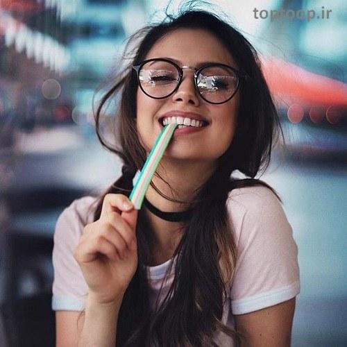 عکس پروفایل دختر شاد مخصوص پروفایل اینستاگرام
