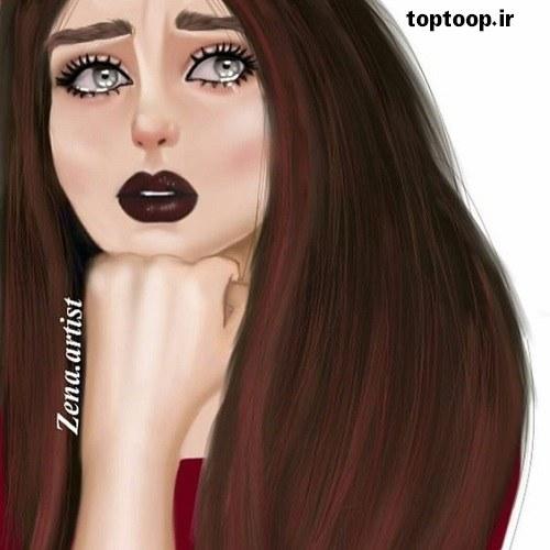 دخترانه توپ تاپ 2019 اشک تو چشماش جمع شده و غصه داره