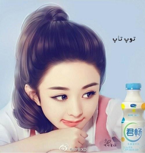 عکس دختر خوشگل کره ای برای پروفایل دخترونه