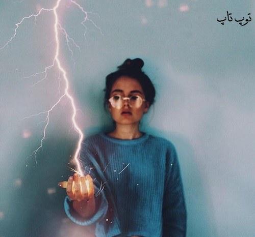 عکس هنری پروفایل دختر طراحی شده در سایت توپ تاپ