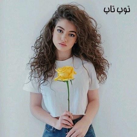 عکس پروفایل دختری با گل همراه با 100 عکس مختلف در ژست های جالب